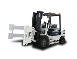 China 4 Ton Automated Forklift Trucks With Isuzu C240 Engine Industrial Usage on sale