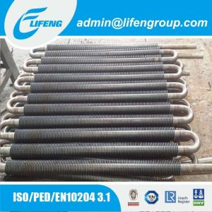 China snake shape fin tube for evaporator & radiator on sale