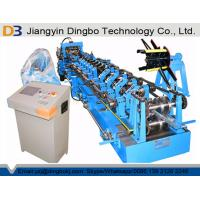 Hydraulic Pre-punching Adjustable Size Steel CZ Purlin Roll Forming Machine With 5 Tons Decoiler