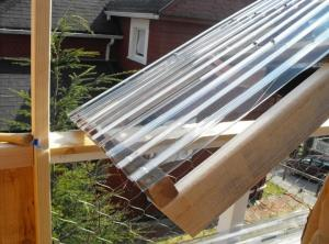 China Clear Lexan Corrugated Polycarbonate Panels , Corrugated Skylight Panels on sale