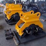 Small vibratory stone plate compactor parts for 20 Ton Excavator Hydraulic Vibro Concrete Compactor