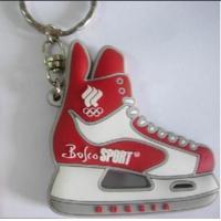 Wholesale 2D Rubber PVC Mini Air Max Jordan Basketball Shoes Sneaker Keychain