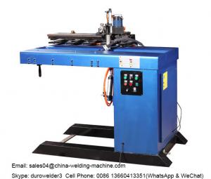 China SSW-1500 Longitudinal Seam Welding Machine To Weld Tank Cylinder Straight Seam with blue color on sale