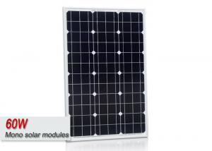 China Sungold 60 Watt Mono Cell Solar Panel , Photovoltaic Solar Panels For Your House  on sale