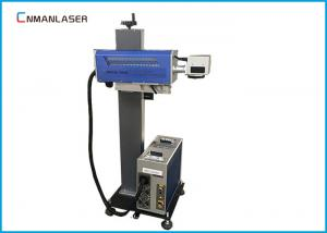 China 300*300 Mm Galvo Co2 Laser Marking Machine , Small Laser Marker For Furniture And Glass on sale