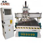 CA-1325 3 heads milling machine cnc with 1300*2500mm/cnc pneumatic head machine 3 spindles cnc machine