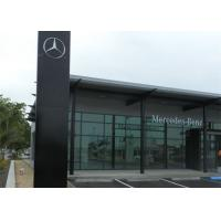 Mercedez Benz Car Showroom Building Steel Structure With 50 Years Lifespan