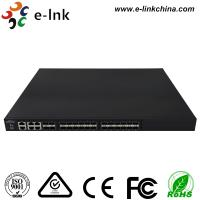 Managed Ethernet Switch Fiber Optic 24 10Gbps SFP+ ports + 4 Gigabit TP / SFP combo ports