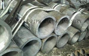 China GB T8162 JIS ASTM DIN Hot Rolled Steel Tube With Bevel / Plain End API 5L X42 X52 on sale