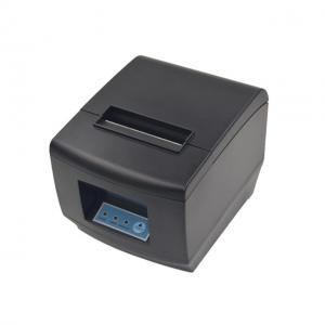 China 3 inch Black / White USB&LAN Kitchen Receipt Printer Android iOS Windows POS System 80mm Thermal Receipt Printer on sale