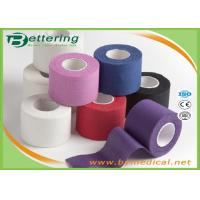 Cotton Coloured Athletic Sports Tape , GYM Ankle / Knee Strapping Tape Joints Protector