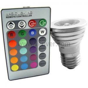 China High Power 3W E27 RGB LED Spotlight on sale