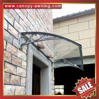 excellent outdoor house diy door window porch pc polycarbonate aluminum aluminium canopy awning shelter cover kits