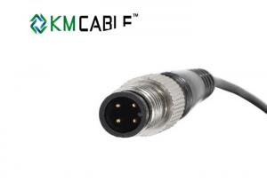 China PVC Insulation M12 8 Pin Cable Custom Made Jacket 2 Core X 1.0mm on sale