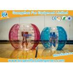 Bola de balanceo inflable del golpeador brillante del color, bola inflable del sumo para jugar a juegos