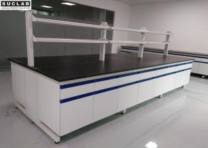 China Steel Wood Material Modular Lab Furniture 1500*850mm Size For Research Institution on sale