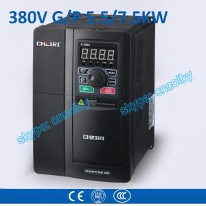 China G/P 5.5kw/7.5kw Three Phase VFD Variable-Frequency Drive pump  motor frequency converter Low Voltage AC drive frequency on sale