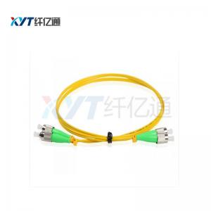 China FC-FC SC-SC LC-LC Fiber Optical Patch Cord Length 1M High Dense Connection on sale