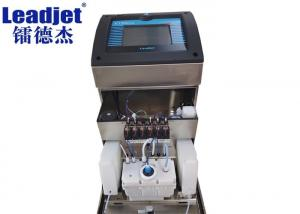 China Food Packages Leadjet Inkjet Printer / Expiry Date Coding Machine With Samrt Cartridge on sale