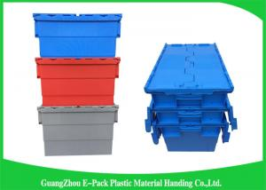 Stackable Plastic Storage Containers With Attached Lids Heavy Duty