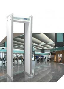 China WalkThrough Checkpoint MultiZone Metal Detector Security Gates High Discrimination on sale