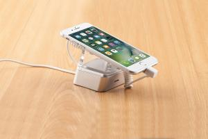China mobile phone holder for desk security display alarm stands for retail stores on sale
