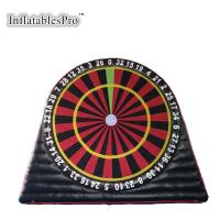 cheap inflatable childrens velcro dart board with sticky balls for sale