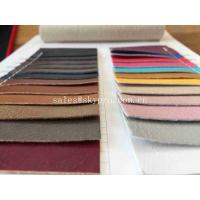 Wear Resistance 1 mm Thick Cold Resistant Microfiber Leather Car Seat Cover Semi PU