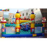 OEM Safety Inflatable Amusement Park Play Structures 14L x 7W x 5H Meter