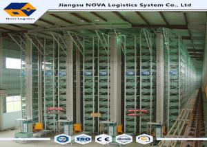 China Powder Coated Automated Storage And Retrieval Systems With Drive In Racking on sale