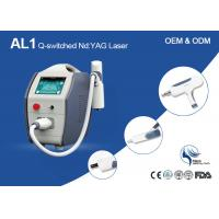 Dual Wavelength Q-Switched Nd Yag Laser Machine For Tattoo Removal CE Approved