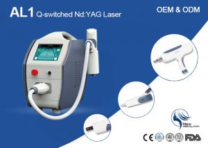 China Dual Wavelength Q-Switched Nd Yag Laser Machine For Tattoo Removal CE Approved on sale