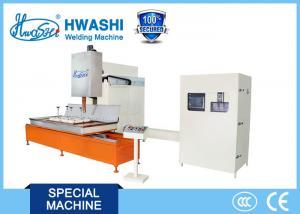 China HWASHI 160KVA CNC Automatic Stainless Steel Kitchen Sink Seam Welding Machine on sale