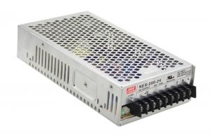 China 2017 new MEAN WELL original NES-200-12 12V 17A meanwell 12V 204W Single Output Switching Power Supply on sale