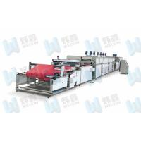 High Efficiency Full Automatic Roll To Roll Non Woven Silk Screen Printing Press