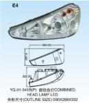 Irizar PB combined head lamp LED