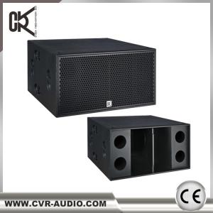 China Real Sound Speakers  2x18 Subwoofer Big Subwoofers 2000watt Active Neodymium Sub-Bass on sale