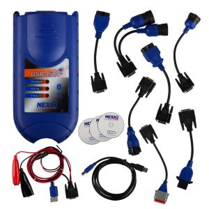 China NEXIQ 125032 Truck engine scan tool Software Diesel Diagnostic Interface on sale