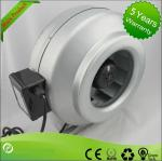High Efficiency Circular Inline Duct Blower , Centrifugal Ducted Exhaust Fan