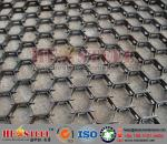 Petrochemical industry hex-mesh refractory linining   2mm thickness, 20mm height and 50mm holes   3'*10' plate size