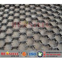 Petrochemical industry hex-mesh refractory linining | 2mm thickness, 20mm height and 50mm holes | 3'*10' plate size
