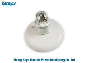 China Disc Type Anti Pollution Suspension Insulator , Porcelain Insulator For High Voltage on sale