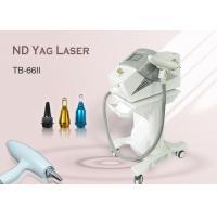 Portable Birth Mark / Tattoo Removal Skin Whitening ND Yag Laser Machine