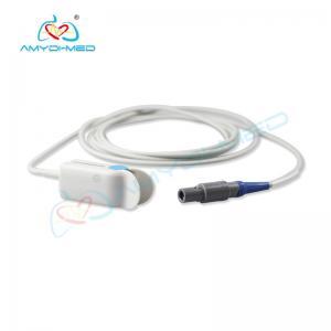 China Reusable Mindray 9000 Original PM-6201 6 pin Adult finger clip Spo2 Sensor on sale