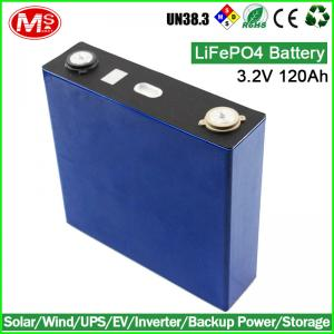 China 3.2 Volt 120Ah LiFePO4 Electric Car Battery Cells Replace Lead Acid Batteries on sale