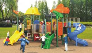 China Lovely athleisure style kids favorite outdoor playground equipment plastic slide on sale