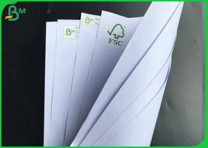China 1000mm 60gsm 70gsm 80gsm FSC Certified White School Book Paper In Reels on sale