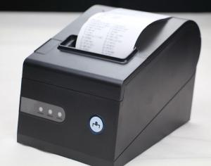 China High Resolution Desktop 3 '' Postal Thermal Barcode Label Printers , QR Stickers Trademark on sale