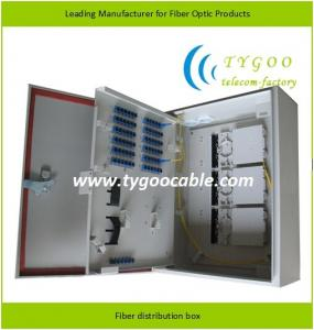 China Water Proof Fiber Distribution Box , Wall Mounted Cold Rolled Steel Body on sale