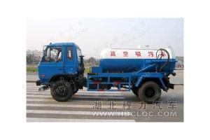 China Dongfeng 145 Sewage Suction Truck on sale